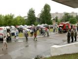 ОАО «ЧМЗ» провело плановые пожарно-тактические учения