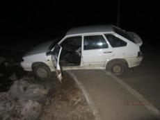 В Глазове пьяный водитель попал в ДТП