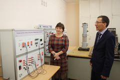 Удмуртэнерго оснастило современным оборудованием учебные классы студентов-энергетиков