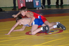 Глазовские борцы успешно выступили на турнире в Кирове