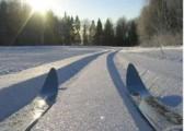 В Глазове заработало освещение лыжной трассы