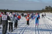 На старт лыжни России вышли 6,5 тысяч человек