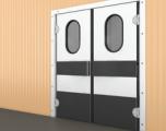 Противопожарные маятниковые двери