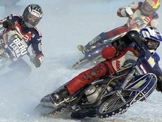 В Глазове интересуются мнением горожан по поводу проведения мотогонок на льду