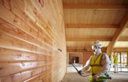 Обработка биозащитой фасадов зданий и сооружений