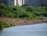 В Глазове ведется подготовка пляжа к купальному сезону