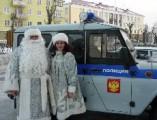 В Глазове пройдет акция «Полицейский Дед Мороз»