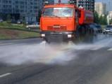 Центральные улицы Ижевска начали муть с «шампунем»