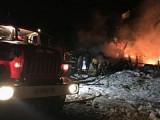 Четыре человека погибли при пожаре в частном жилом доме в Глазовском районе