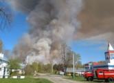 Федеральную трассу M7 перекрыли из-за взрывов в Пугачево