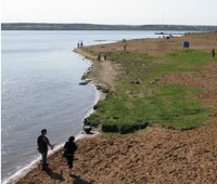 В Чепце утонул рыбак