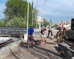 Торжественно открытый в феврале мост начали ремонтировать по гарантии
