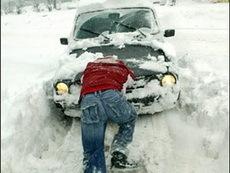 Глазовские управляющие компании должны очистить дворы от снега к 13 января