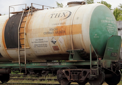 На ЧМЗ оперативно устранили разлив соляной кислоты