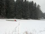Под Глазовом погиб мужчина, провалившийся под лёд