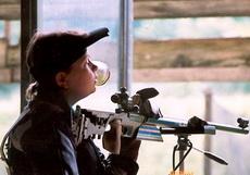 Спортсмены сборной России по пулевой стрельбе тренируются в Глазове