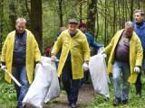 Александр Соловьев принял участие в уборке Холмогорского леса