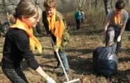 На первый субботник в Ижевске вышли почти 15 тысяч горожан