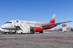 В Ижевск прибыл первый самолет авиакомпании «Россиия»