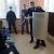 В удмуртской школе полиция показала семиклассникам, как пользоваться щитом и дубинкой