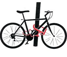 В Удмуртии случайные прохожие задержали велосипедного вора