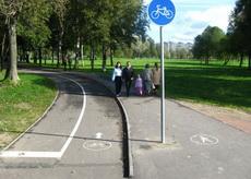 В Ижевске обустроят 8 новых велодорожек