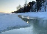 Спасатели предупреждают об опасности выхода на лёд