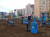 До конца октября в глазовских дворах появятся новые детские городки