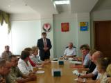 Глазов с рабочим визитом посетил министр здравоохранения Удмуртии