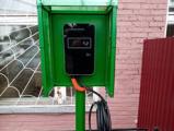 В Глазове появилась первая станция зарядки электромобилей