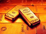 На фоне событий на Украине курс золота остается стабильно высоким